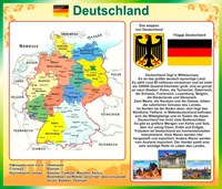 "Стенд ""Германия / Deutschland"", 90х80 см"