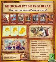 """Стенд """"Киевская Русь"""", 100х110 см"""