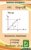 """Стенд """"Полярные координаты"""", 55х90 см"""